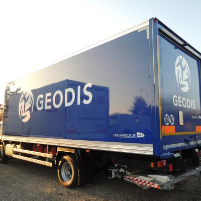 Traditionnel - Geodis fourgon Plywood